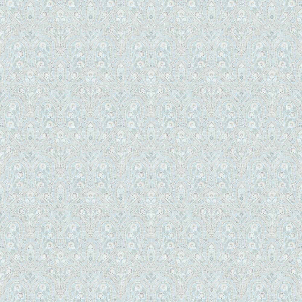 Ornamental Wallpaper - Pale Blue - by Galerie