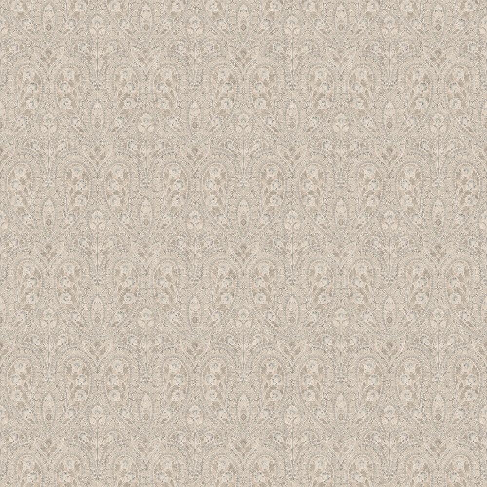 Ornamental Wallpaper - Brown - by Galerie