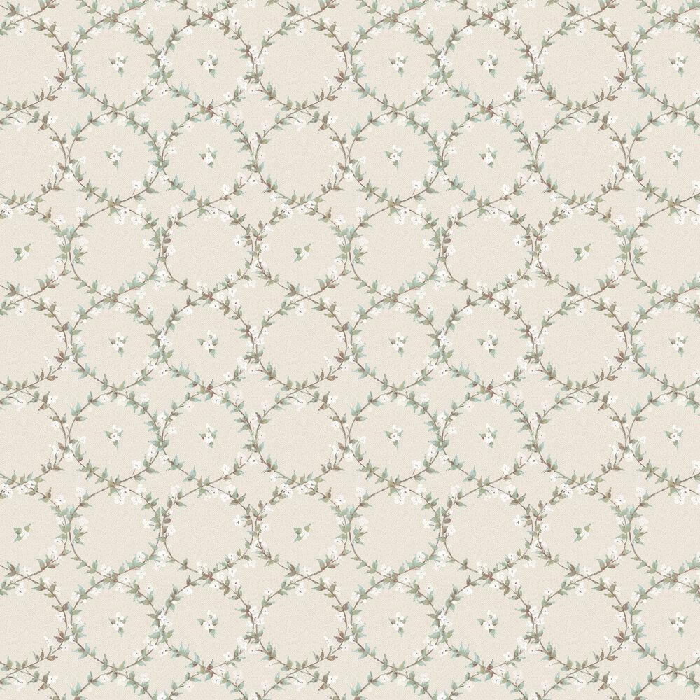 Floral Laurel Wallpaper - Nude - by Galerie