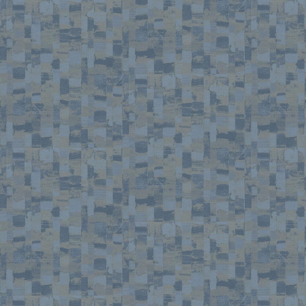 Palette Wallpaper - Blue - by Galerie