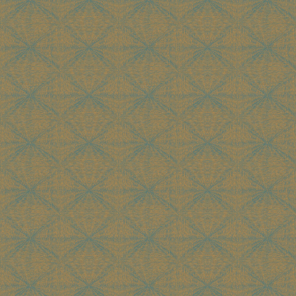 Optical Wallpaper - Bronze - by Galerie