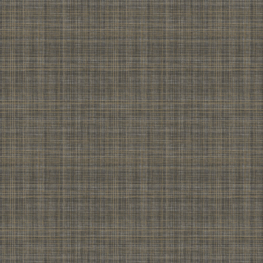 Elizabeth Ockford Lucia  Black / Gold Wallpaper - Product code: W-01033