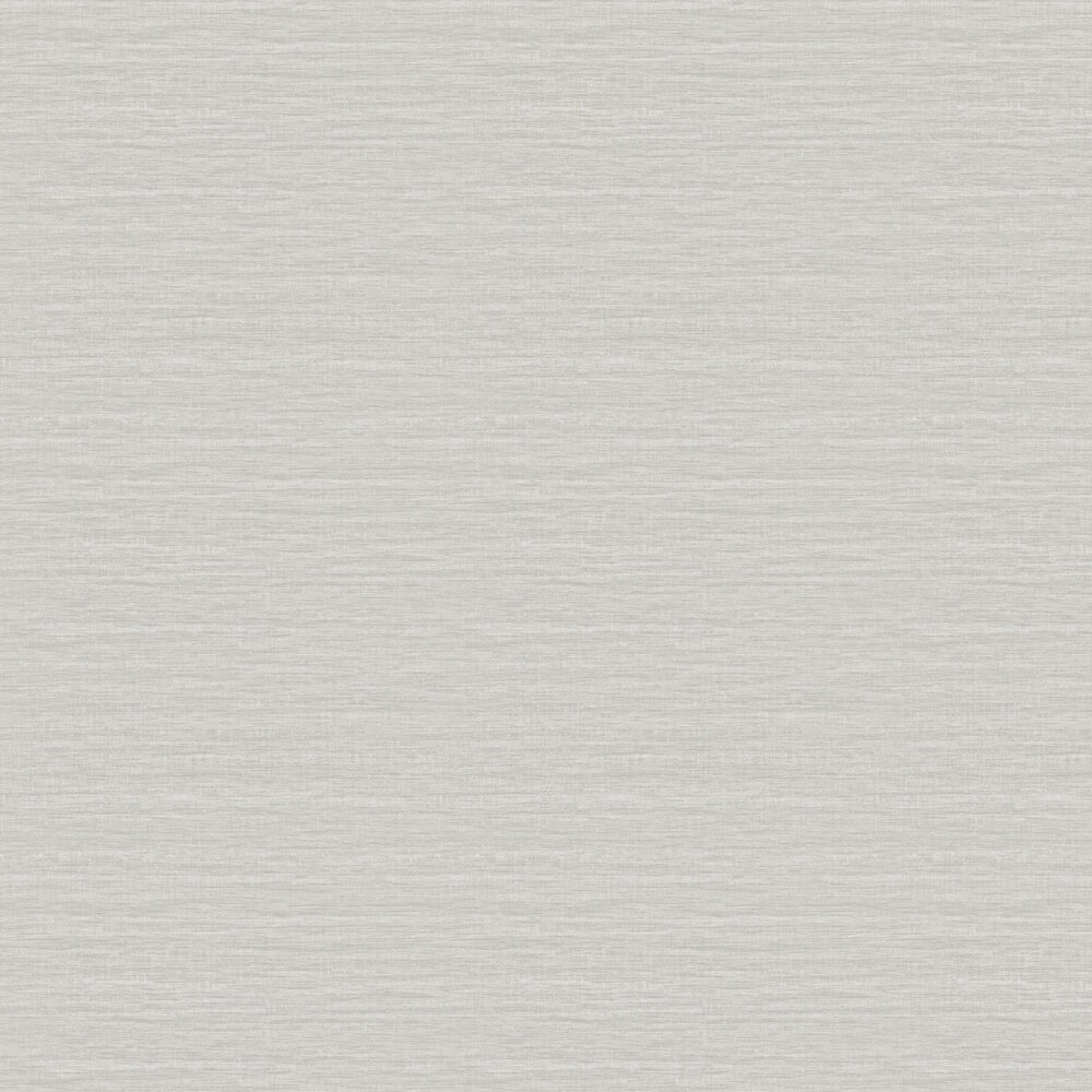Woven Wallpaper - Silver - by Galerie