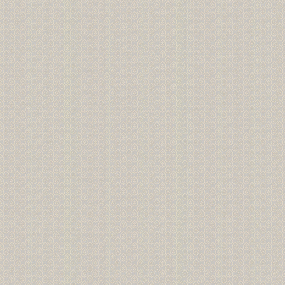 Fencott Wallpaper - Grey - by Sanderson
