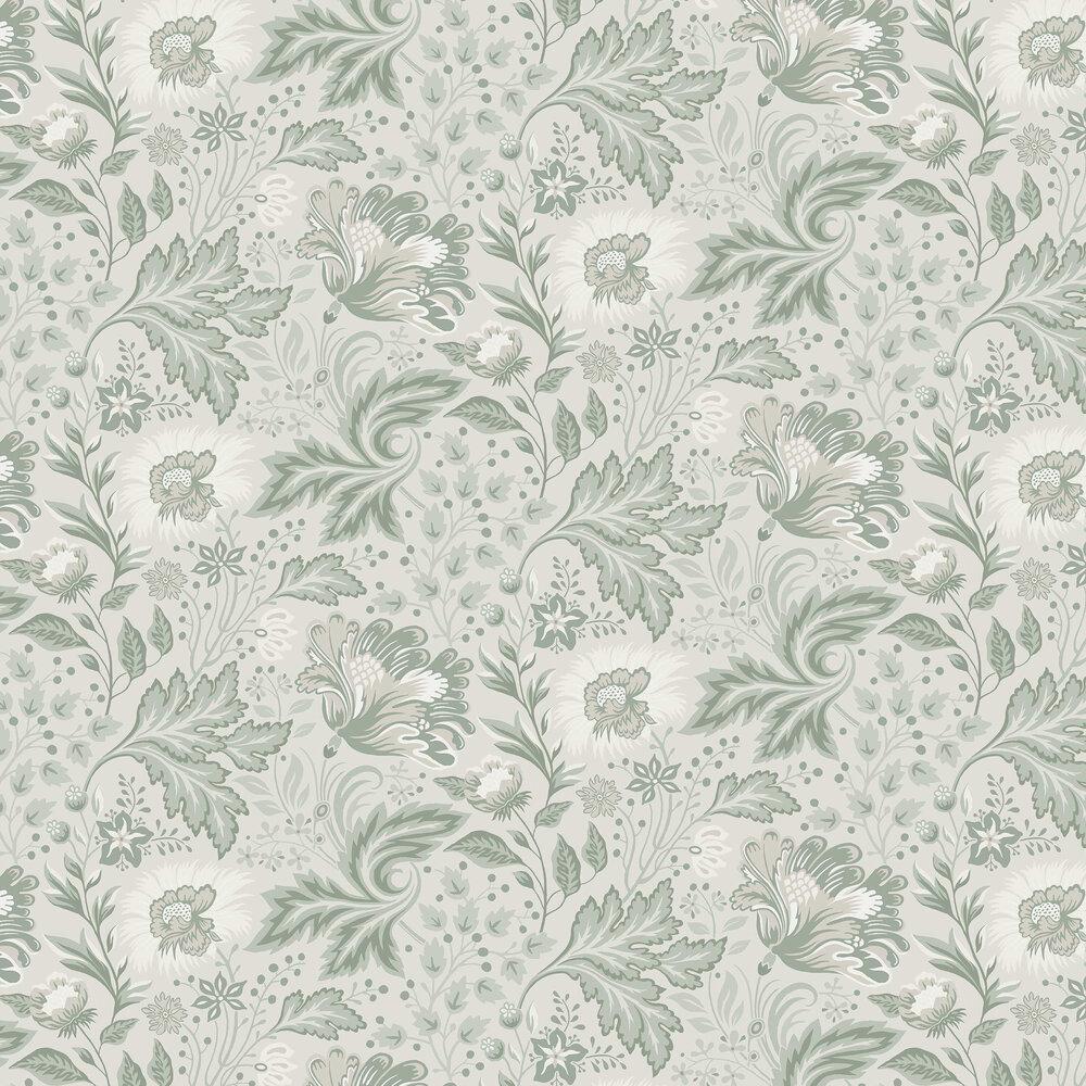 Ava Wallpaper - Pistachio - by Sandberg