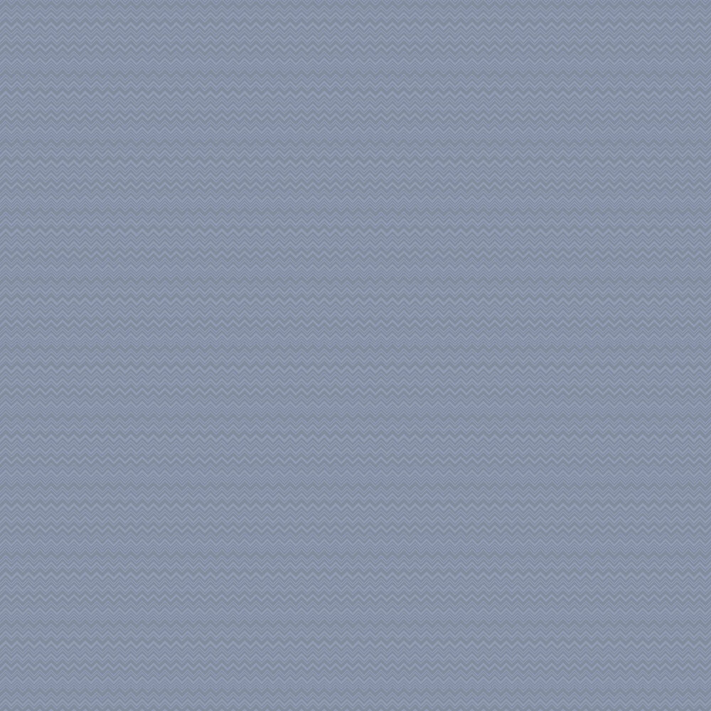 Zig Zag  Wallpaper - Blue - by Missoni Home