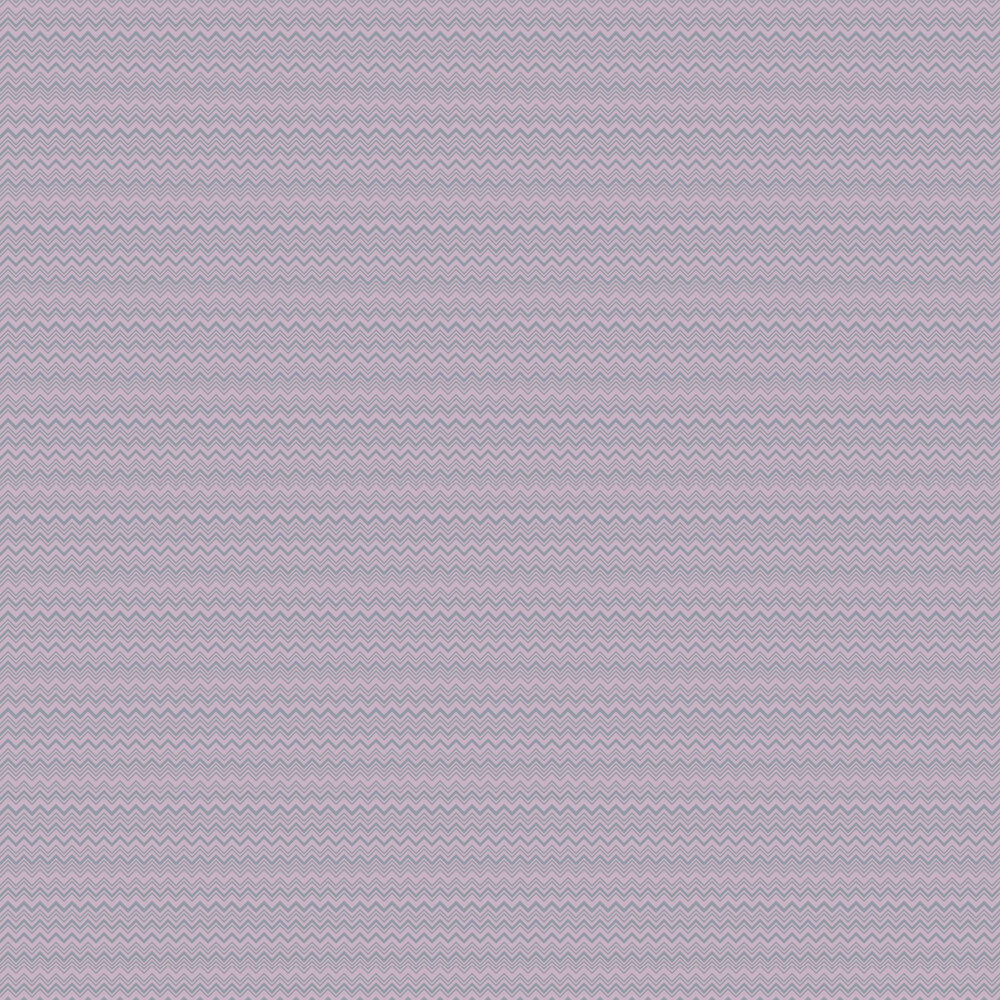 Zig Zag  Wallpaper - Lilac - by Missoni Home