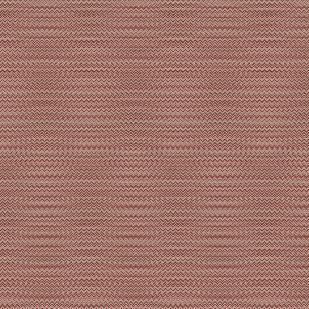 Zig Zag  Wallpaper - Brick - by Missoni Home