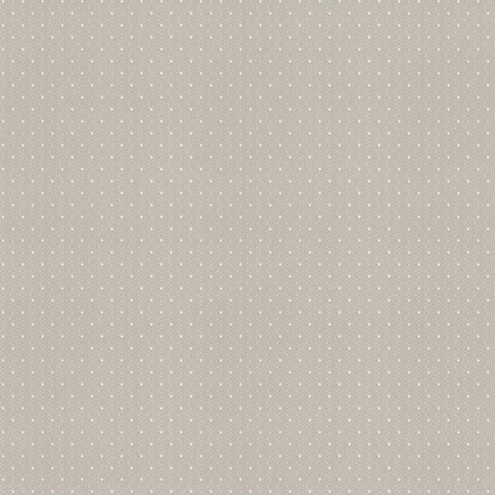 Diamond Geo Wallpaper - Silver Grey - by Elite Wallpapers