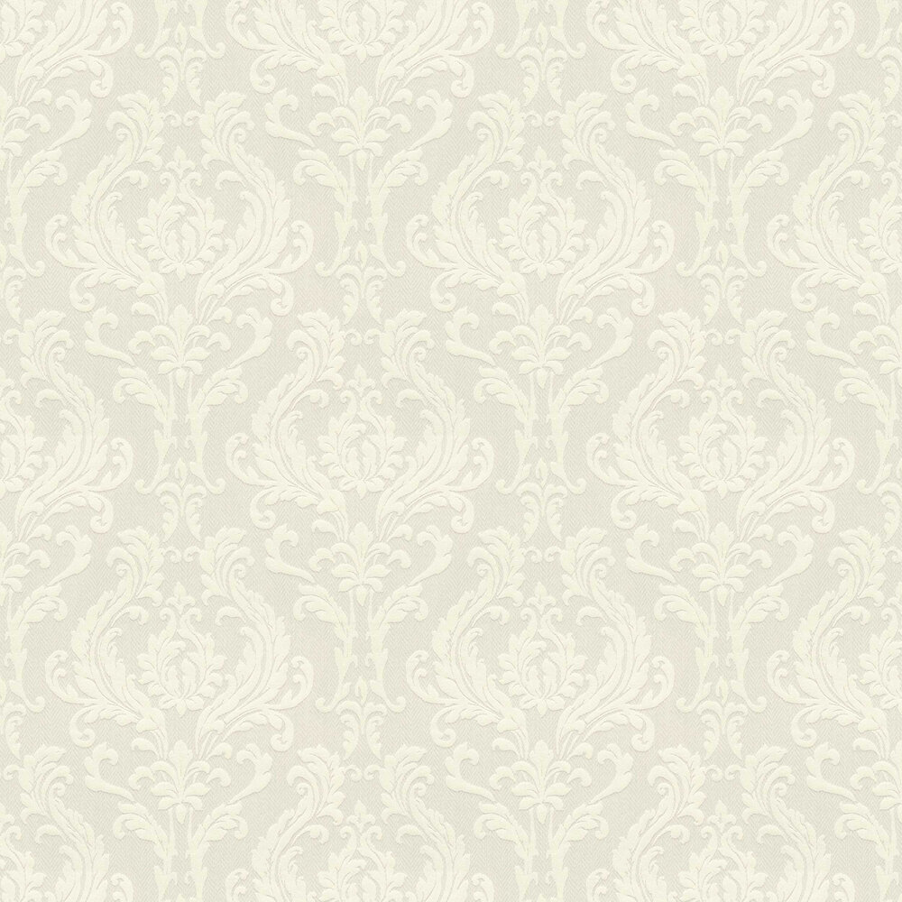 Herringbone Damask Wallpaper - Pearl - by Elite Wallpapers