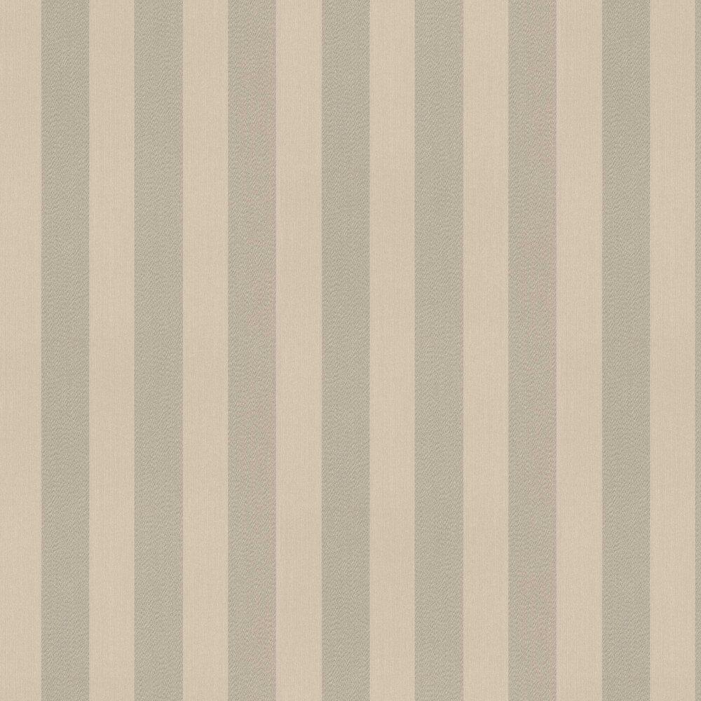 Stripe Textured Wallpaper - Beige - by Elite Wallpapers