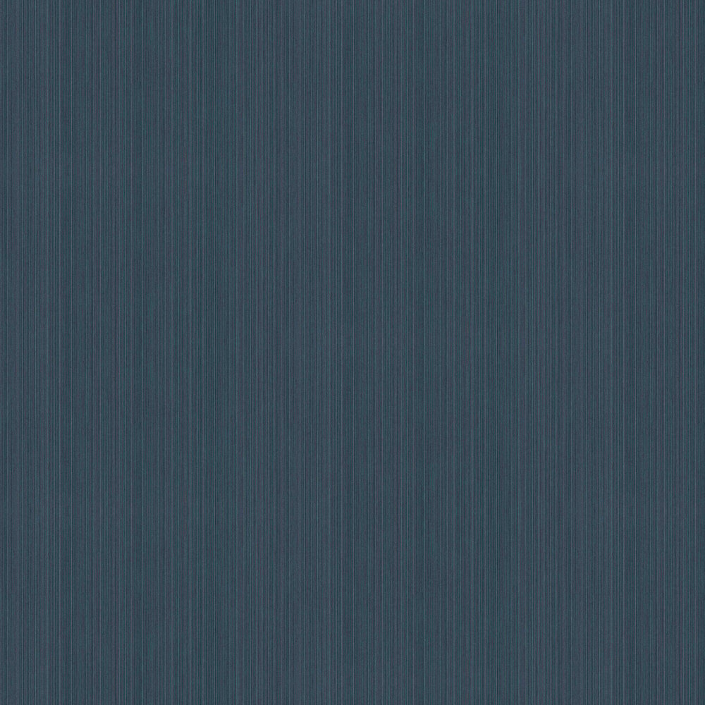 Strie Plain Wallpaper - Blue - by Elite Wallpapers
