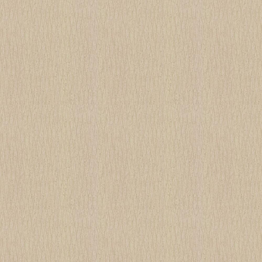 Bark Wallpaper - Soft Gold - by Galerie