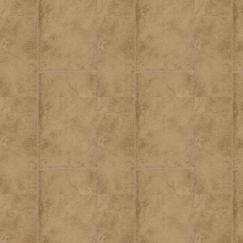 Rustic Concrete Wallpaper - Bronze - by Galerie