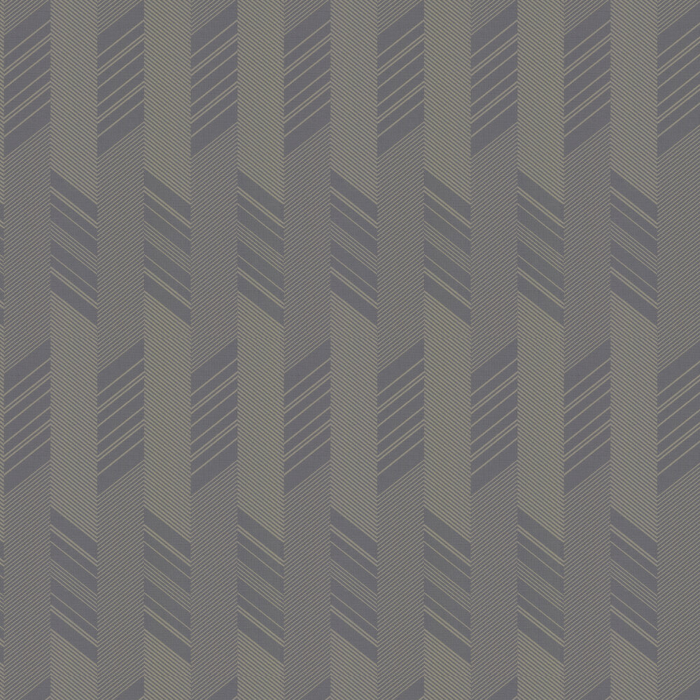 Slope Wallpaper - Charcoal - by Galerie