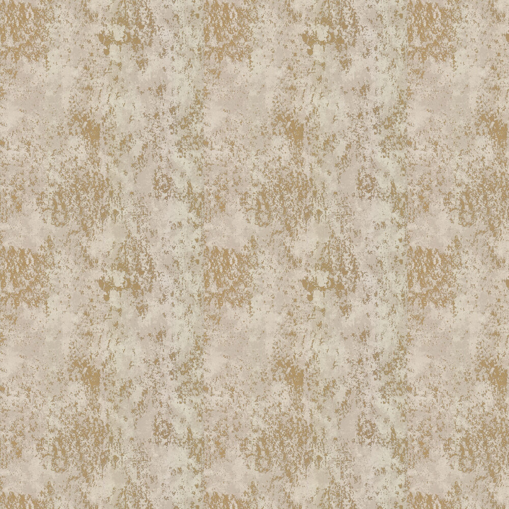 Concrete Wallpaper - Gold - by Galerie