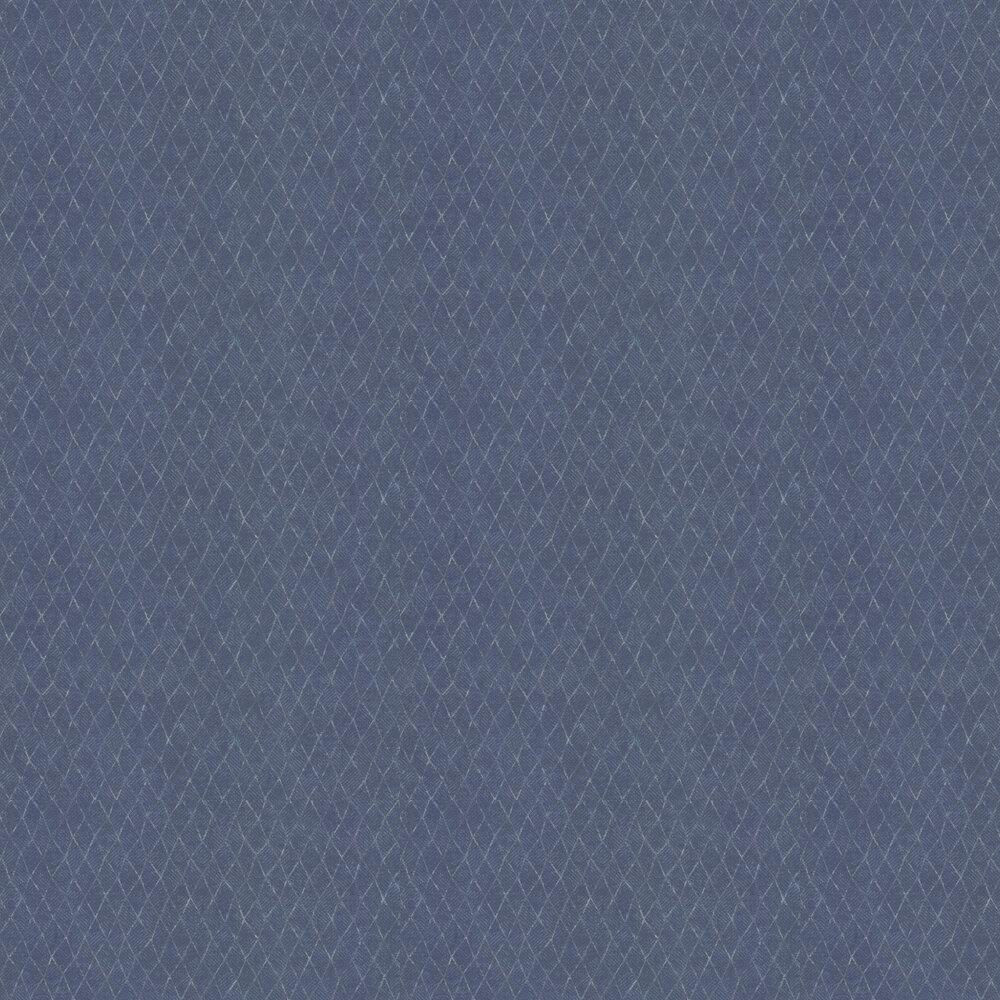 Netting Wallpaper - Navy - by Galerie