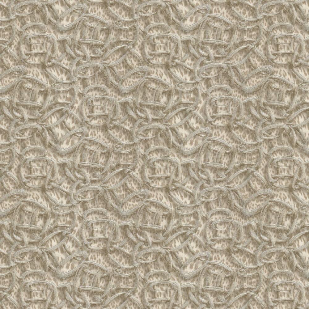Cerchi Pantera Wallpaper - Nude - by Roberto Cavalli