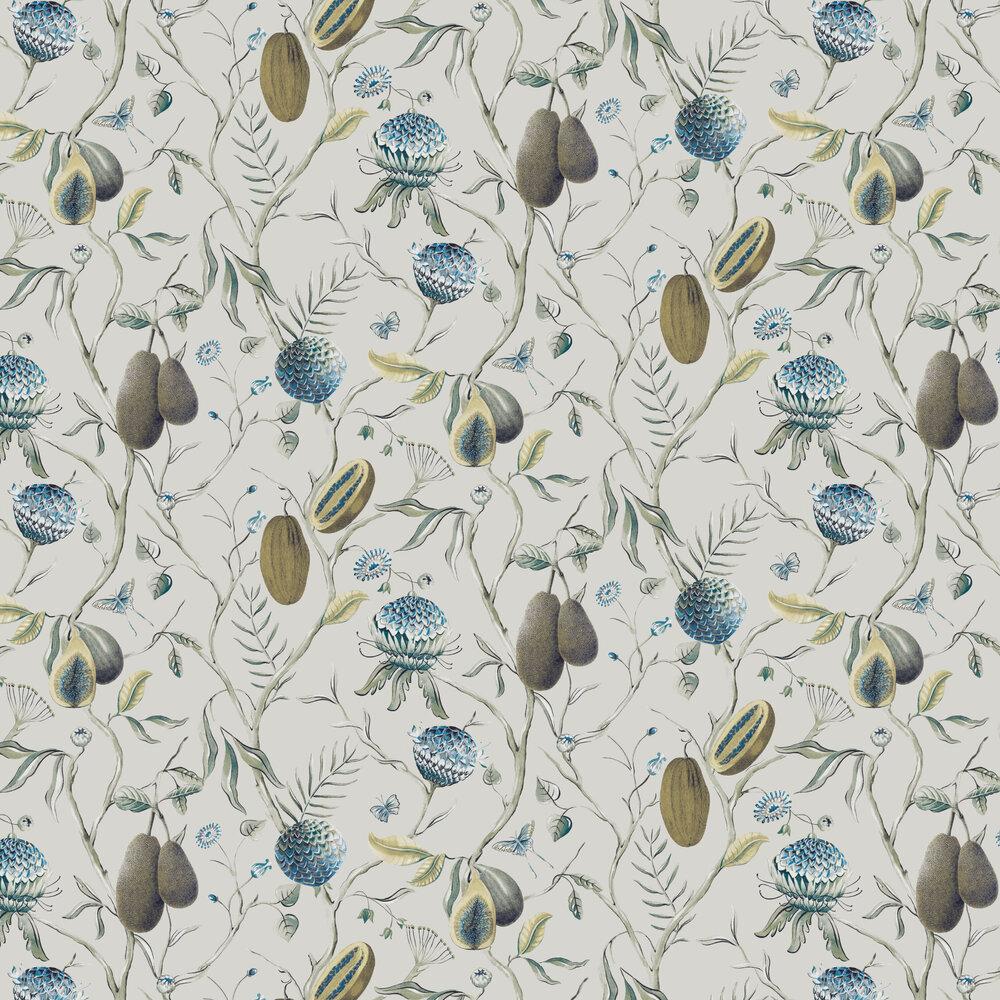 Papaya Wallpaper - Peacock - by Khrôma by Masureel