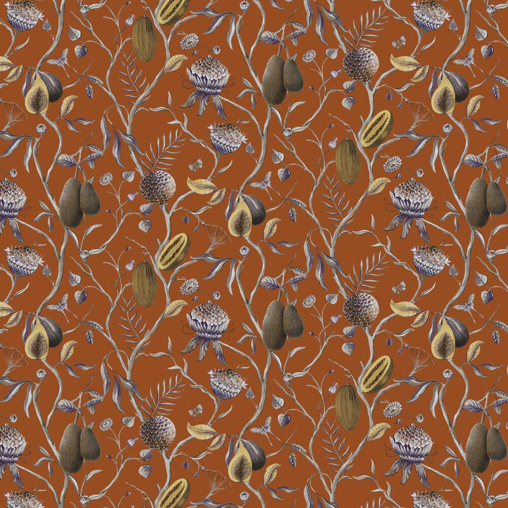 Papaya Wallpaper - Mandarin - by Khrôma by Masureel