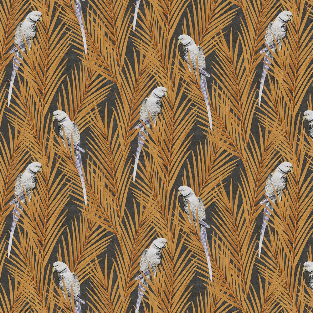 Eden Wallpaper - Mandarin - by Khrôma by Masureel