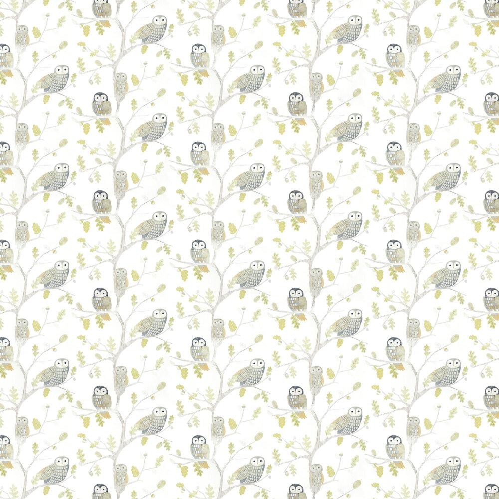 Little Owls Wallpaper - Kiwi - by Harlequin