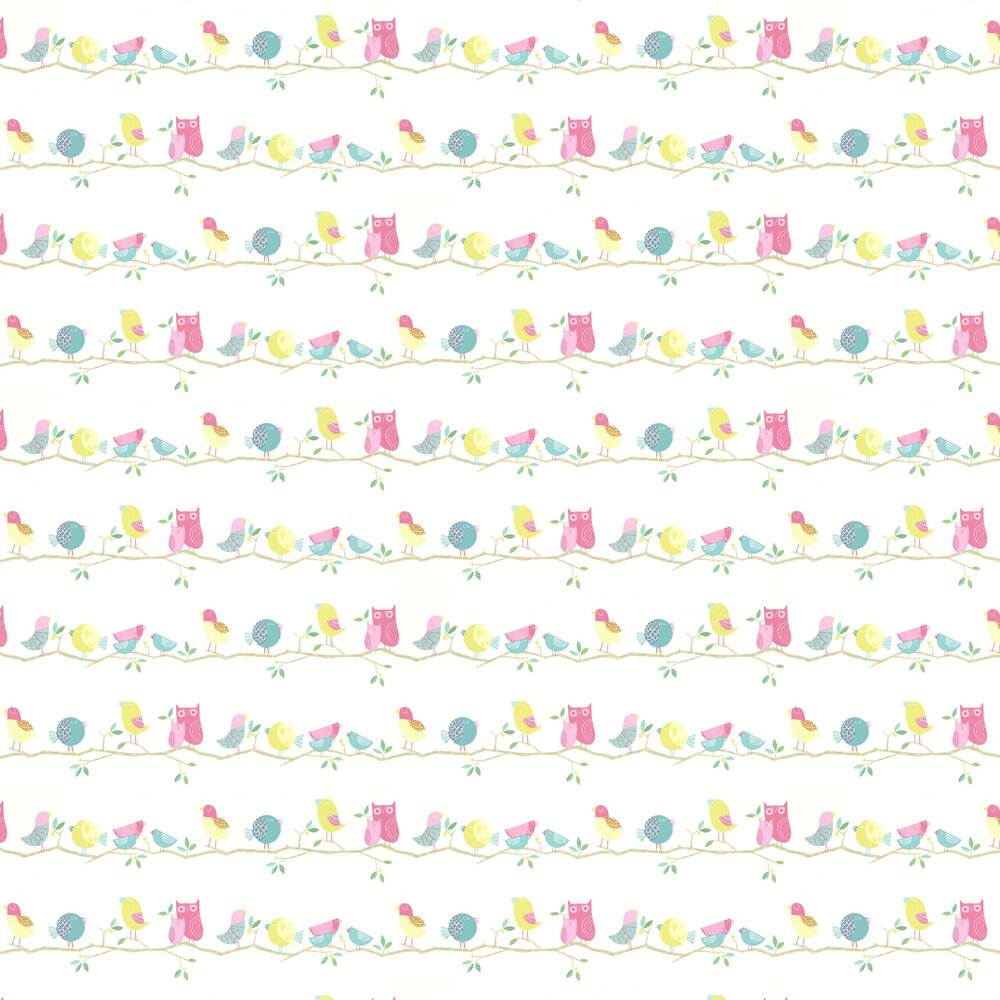 What A Hoot Wallpaper - Multi - by Harlequin