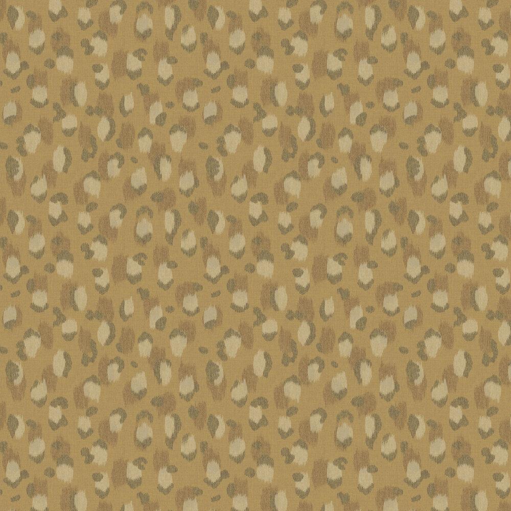 Ocelot Effect Wallpaper - Ochre - by Eijffinger
