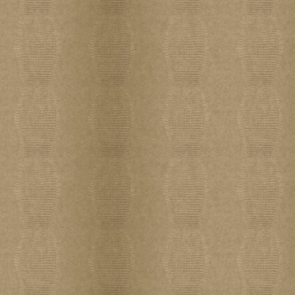 Alligator Effect Wallpaper - Brown - by Eijffinger