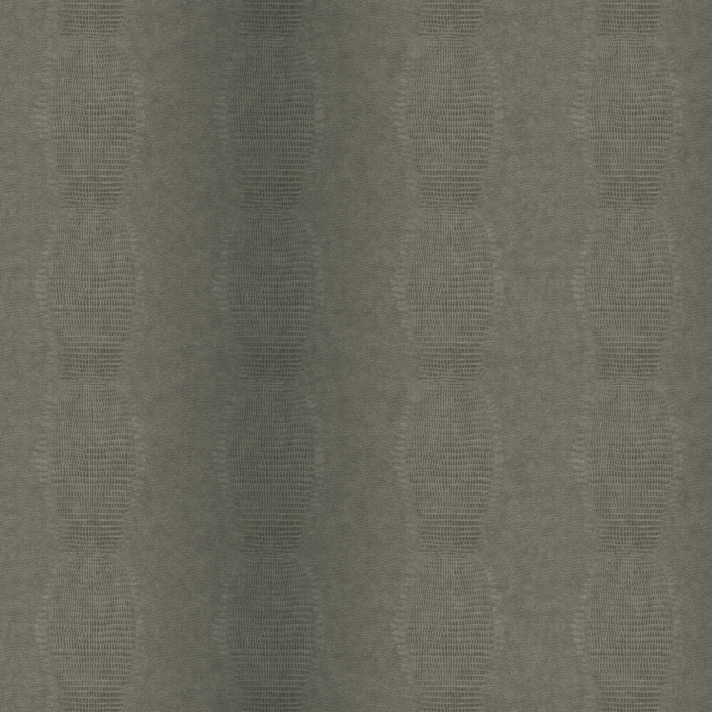 Alligator Effect Wallpaper - Grey - by Eijffinger