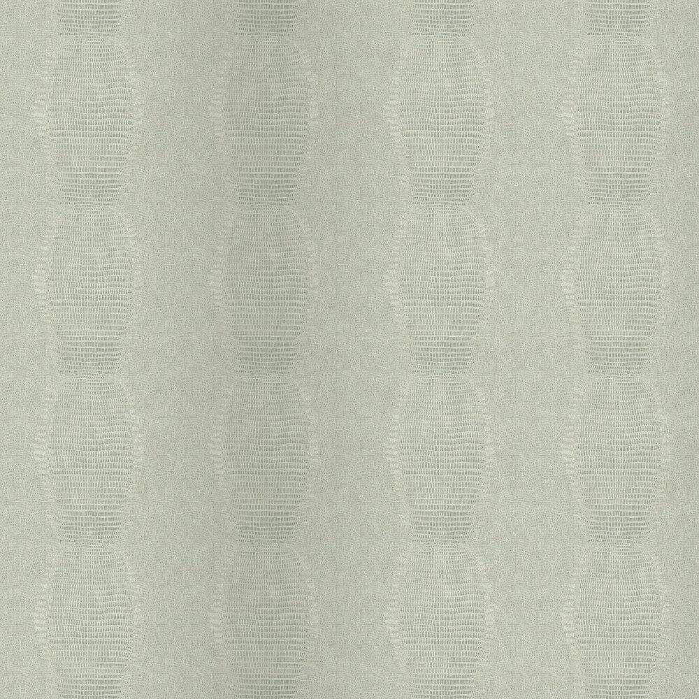 Alligator Effect Wallpaper - Silver - by Eijffinger