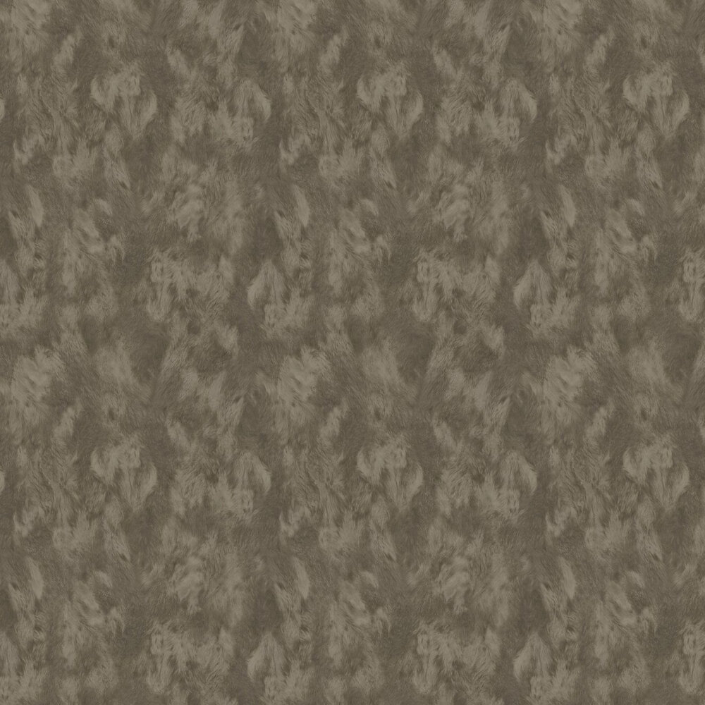 Bear Effect Wallpaper - Brown - by Eijffinger