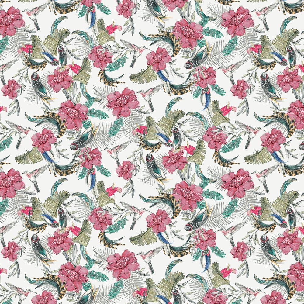 Lirica Wallpaper - White - by Tres Tintas
