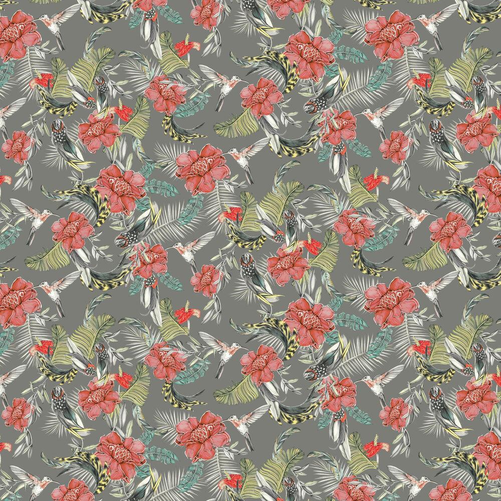 Lirica Wallpaper - Grey - by Tres Tintas