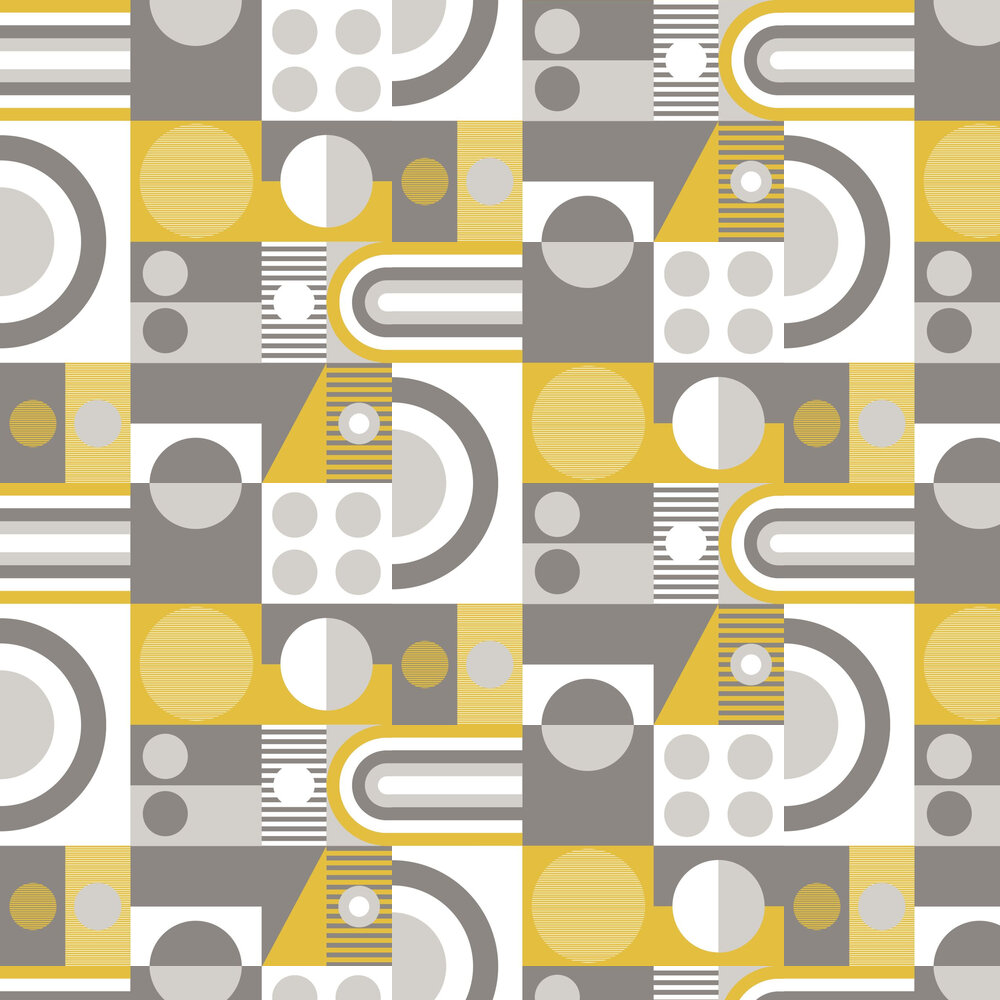 FAB! Wallpaper - Mustard - by Albany