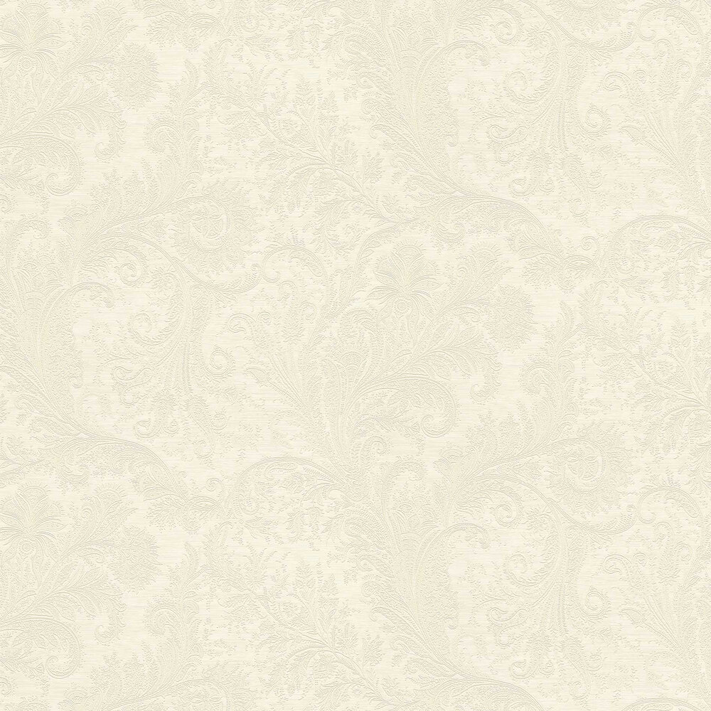 Maracanda Wallpaper - White - by Etro