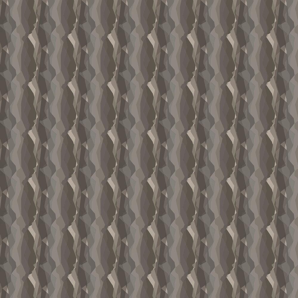 Horizon Wallpaper - Green / Brown - by Galerie