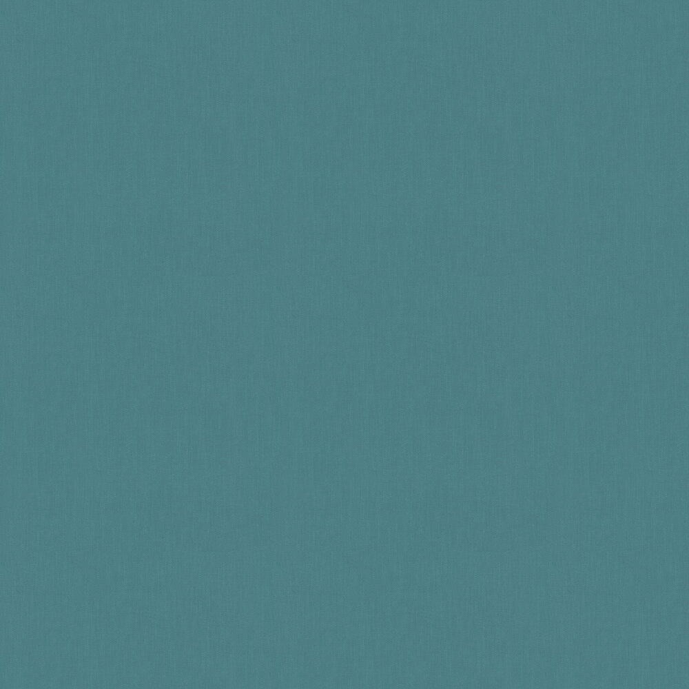 Plain Wallpaper - Turquoise - by Galerie