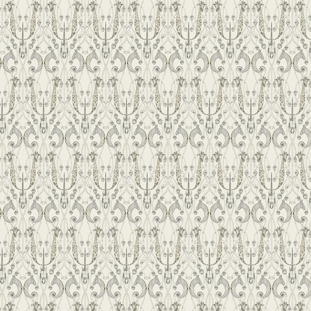 Le Chateau des Animaux Wallpaper - Natural - by The Chateau by Angel Strawbridge