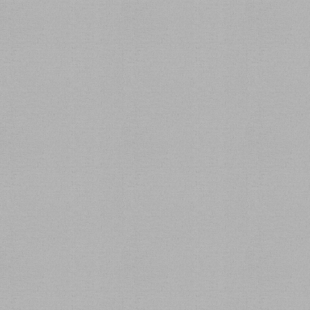 Calico Plain Wallpaper - Grey - by Arthouse
