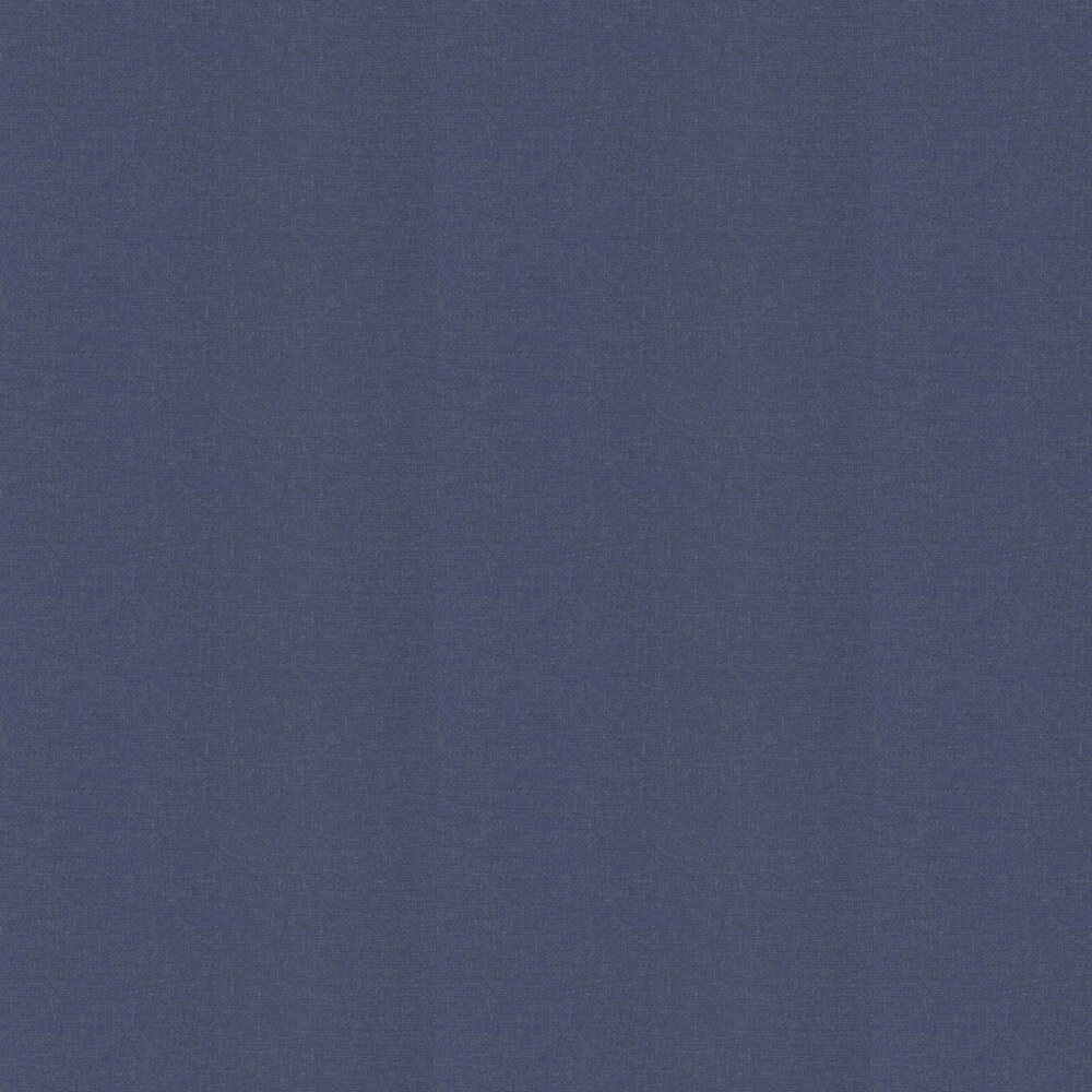 Calico Plain Wallpaper - Navy - by Arthouse