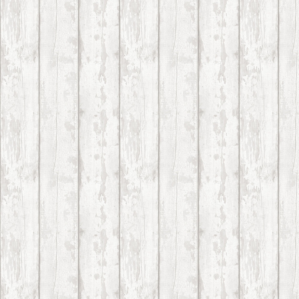 Grey Washed Wood Wallpaper - by Arthouse