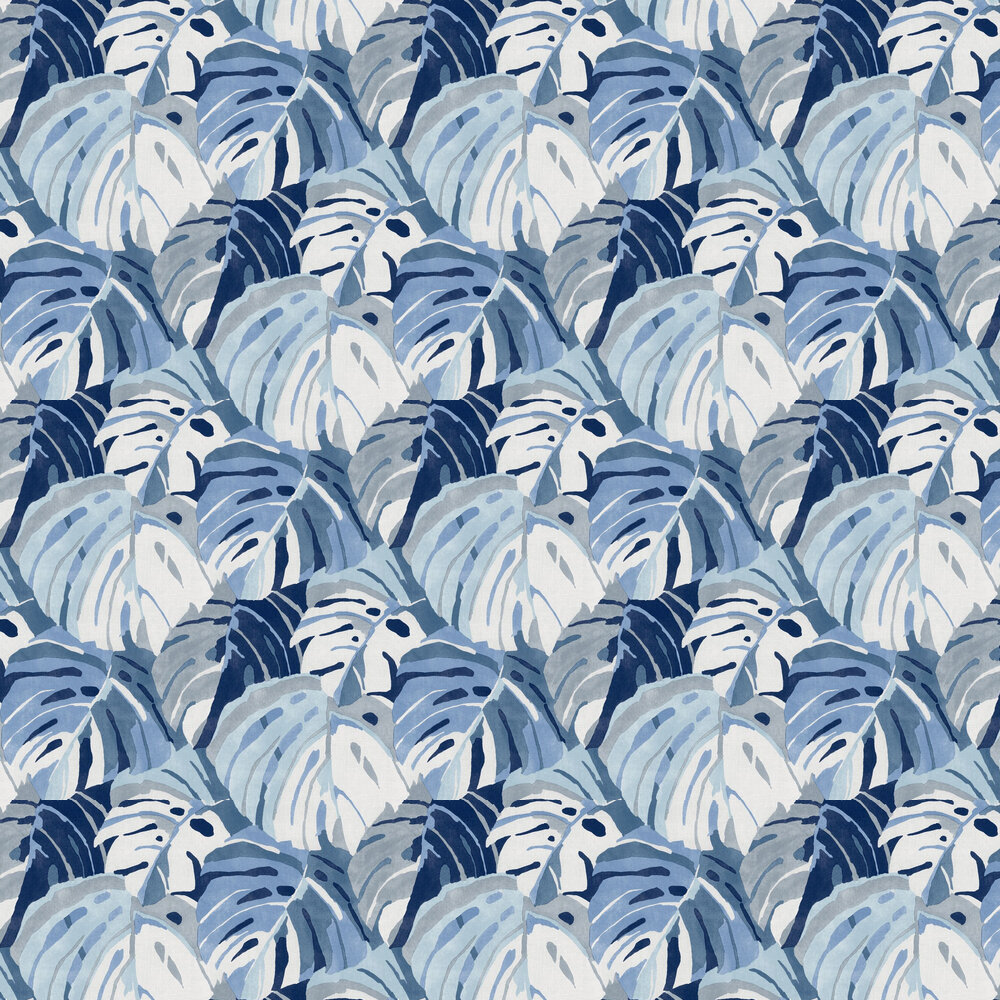 Samara Wallpaper - Blue - by A Street Prints
