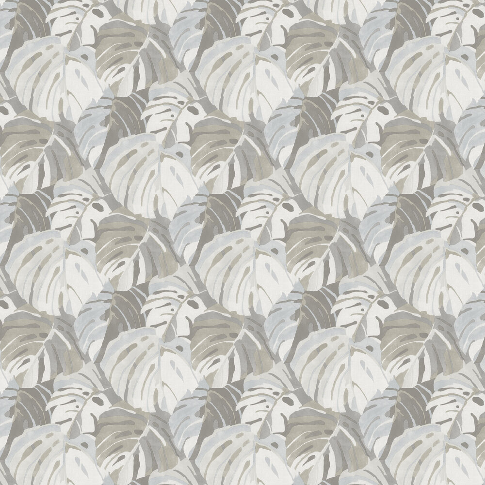 Samara Wallpaper - Stone / Blue  - by A Street Prints