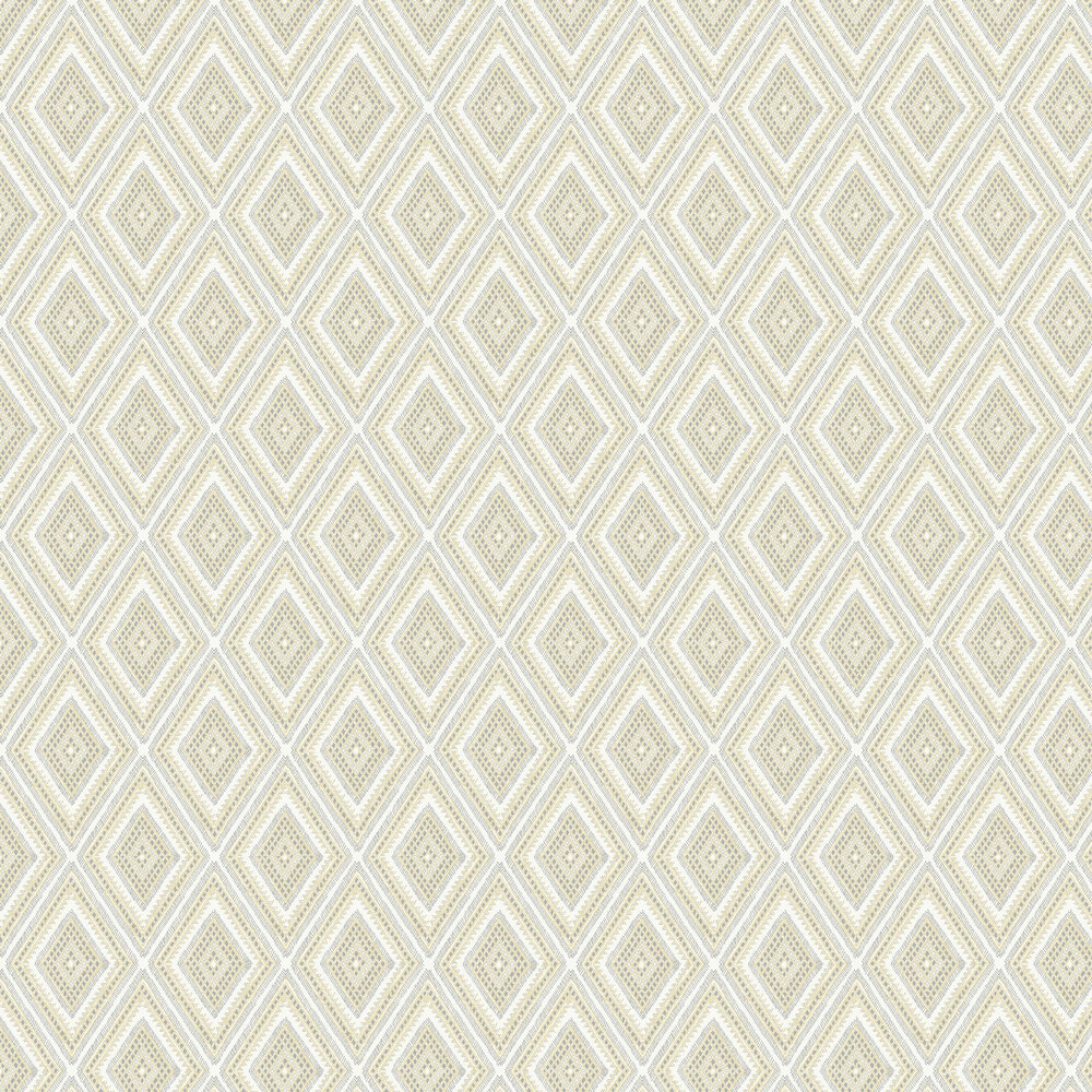 Zaya Wallpaper - Yellow / Grey  - by A Street Prints
