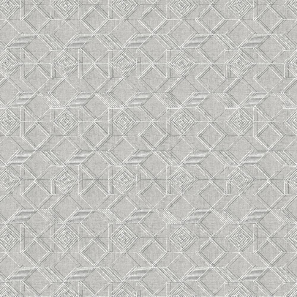 Moki  Wallpaper - Grey  - by A Street Prints
