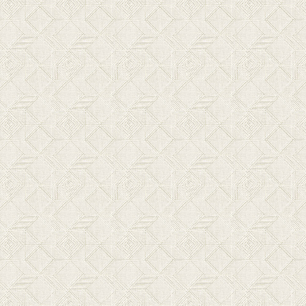 Moki  Wallpaper - Off White  - by A Street Prints