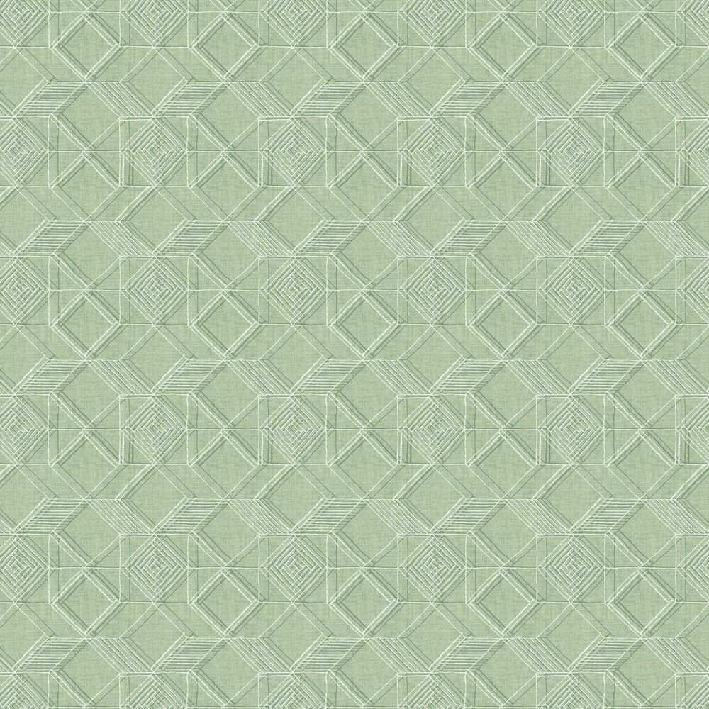 Moki  Wallpaper - Green - by A Street Prints