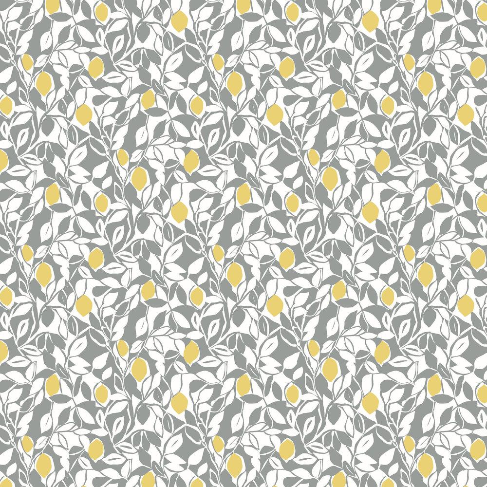Loretto Wallpaper - Yellow / Grey - by A Street Prints