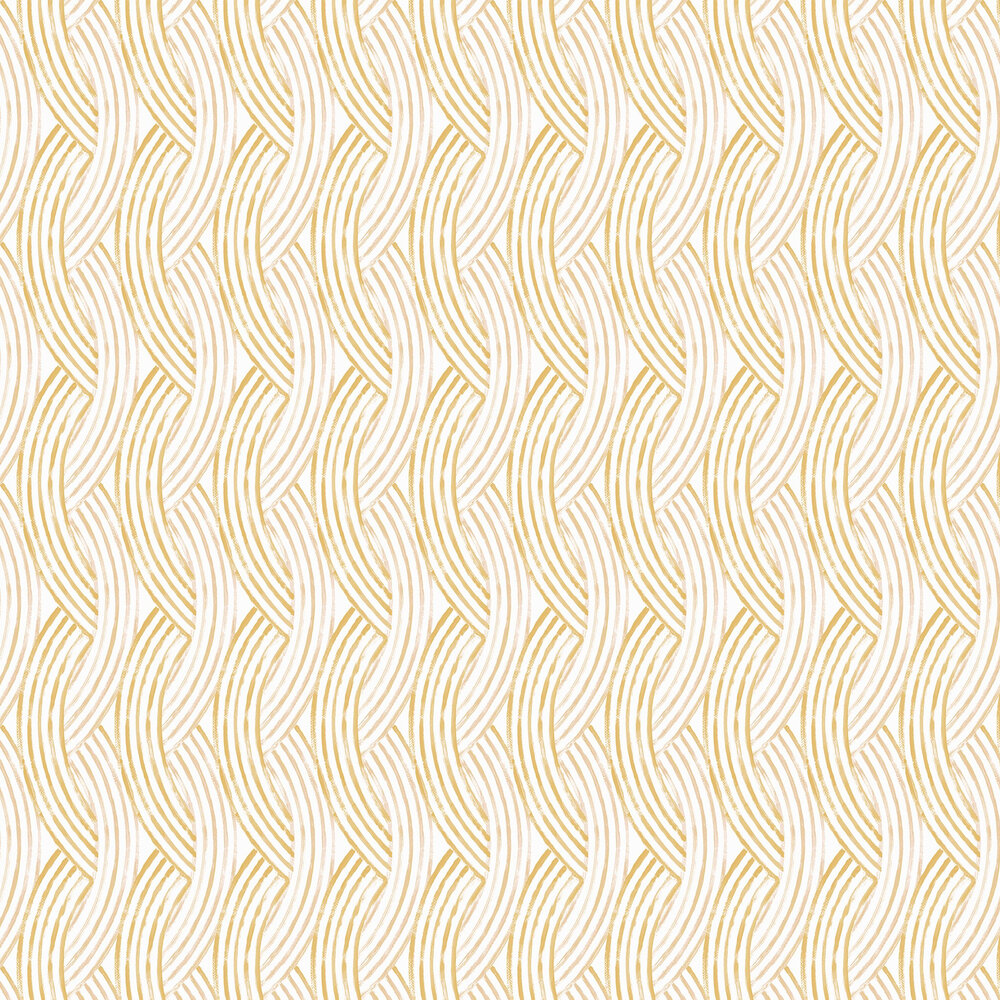 Zemora  Wallpaper - Yellow  - by A Street Prints